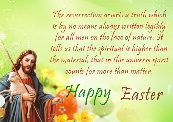 Easter Jesus Message